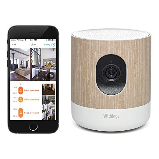 Amazon.com: Withings Home - Wi-Fi Security Camera with Air Quality Sensors: http://amzn.to/2eJsLBW