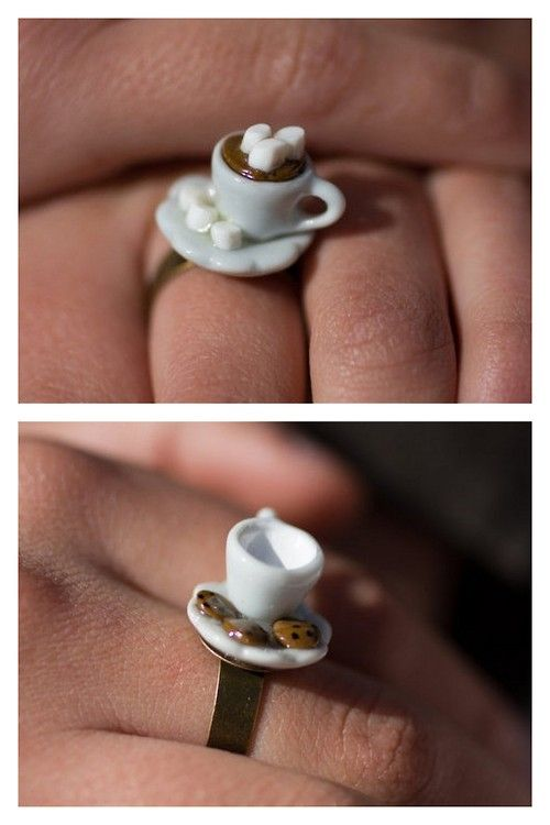Two Easy Miniature Tea Cup Tutorials from Bacon Time with the Hungry Hungry Hypo. Buy or DIY - she also has these for sale in her Etsy store...