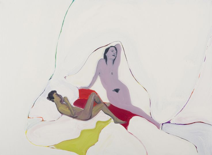DAN COOMBS - SNOW WHITE - 012   oil on canvas   45 x 60 cm