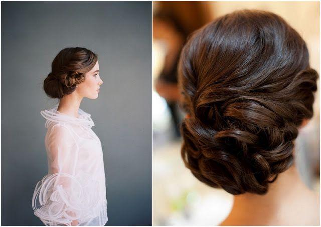25 Brudefrisyrer av oppsatt hår - Oppsatte Hårfrisyrer - Moderne Brudefrisyrer - Wedding Clipart