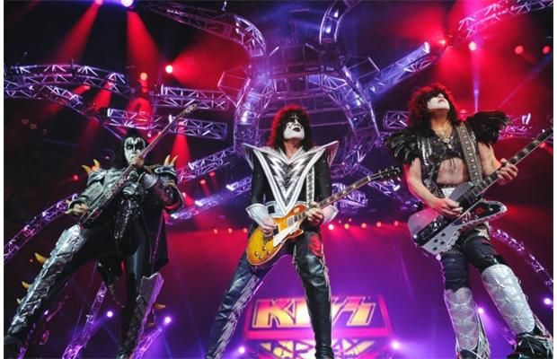The classic rock band KISS shouts it out loud at Rexall Place in Edmonton on Friday night.