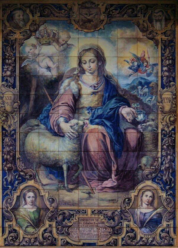 3895 best images about theotokos on pinterest our lady for Hacienda los azulejos
