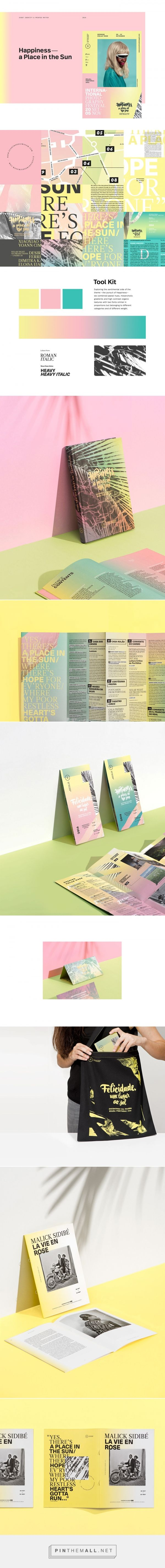 Encontros da Imagem / event identity and printed matter by gen design studio