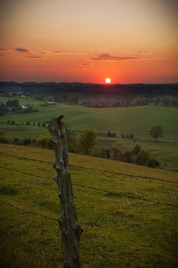 Gods Country Photograph  - Gods Country Fine Art Print.....I would love getting up at the crack of dawn if I could see this every morning