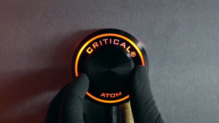 The Atom Power Supply by Critical Tattoo - Available EXCLUSIVELY at Kingpin Tattoo Supply! Call us today or visit kingpintattoosupply.com to learn more.