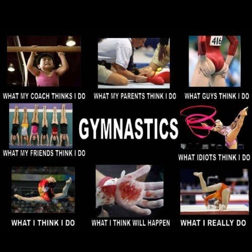 stuff gymnasts say - Google Search