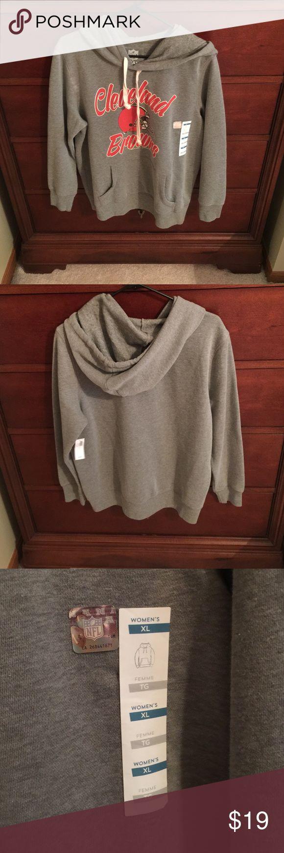 NWT Cleveland Browns Women's Old Navy Hoodie NWT Cleveland Browns Women's Old Navy Hoodie Old Navy Tops Sweatshirts & Hoodies