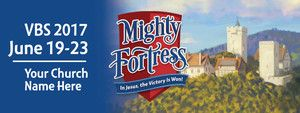 Custom Outdoor Vinyl Banner for Mighty Fortress