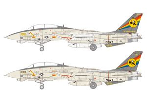 MODELKASTEN - モデルグラフィックス3号連続「マガジンキット」1/72 F-14Dトムキャット