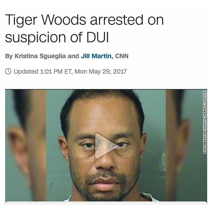 Damn homey in high school you was the man homey. What happened to you?  Golf legend Tiger Woods was arrested around 3 a.m. Monday on suspicion of driving under the influence in Jupiter Florida Jupiter police spokeswoman Kristin Rightler said.  Woods was booked into a local jail and released on his own recognizance with no bond a few hours later according to the Palm Beach County Sheriff's Office's online records.  http://ift.tt/2rxCsZM  #staytalkingishsports