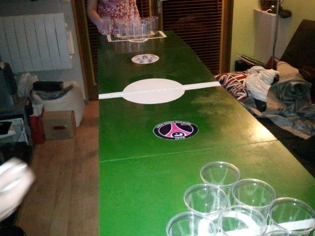 Lol, simply for water pong of course (: and slap cup (with water)  Picture of How to build a foldable beer pong table !