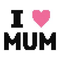 Missy Moo Crochet: I love Mum 50x50