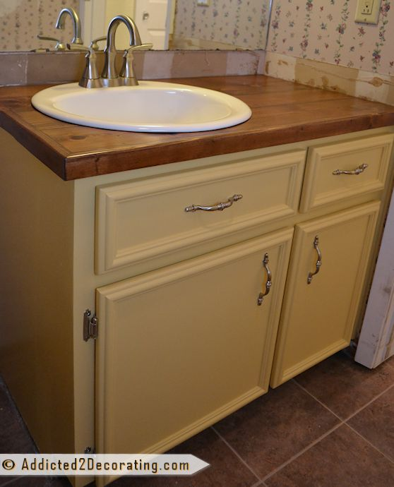 17 Best Ideas About Bathroom Vanity Makeover On Pinterest