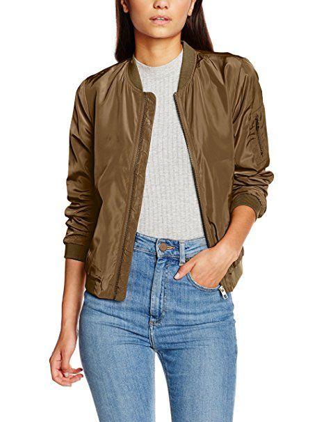 ONLY Damen Jacke Onllinea Nylon Short Jacket Otw Noos, Grün (Tarmac), 42 (Herstellergröße: XL) 16,54€ #SALE #mode #fashion #sale #lookgood #jeans #modern #lady