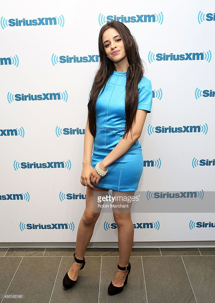 Camila Cabello of Fifth Harmony visits at SiriusXM Studios on June 6, 2014 in New York City.