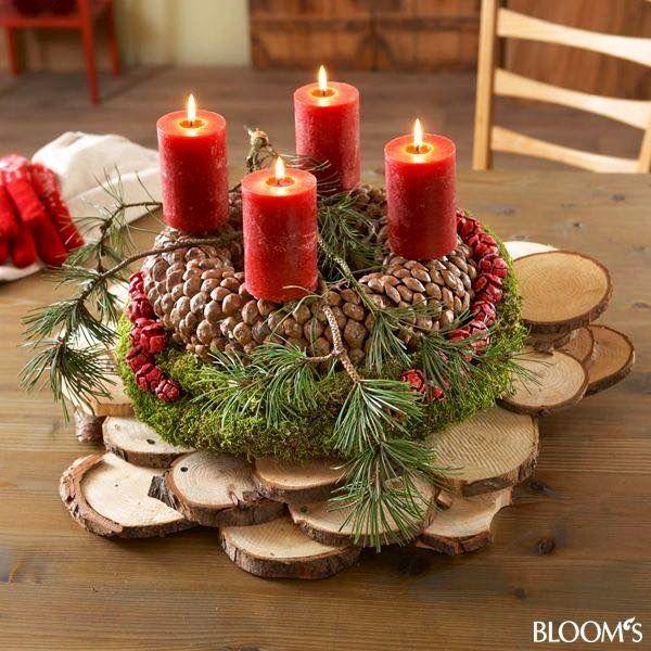 138 Best Bloemschikken Kerst Images On Pinterest