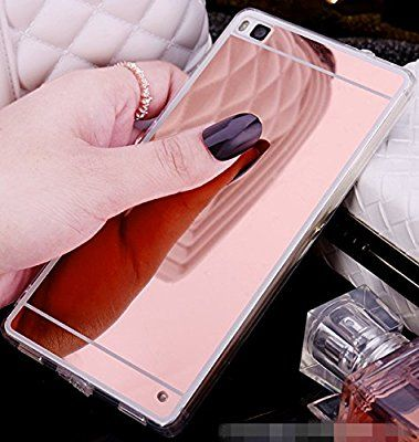 Coque miroir Silicone Tpu Huawei P8 Lite + Stylet + 3 Films OFFERTS!