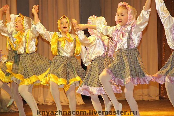 Украинский концертный костюм для польки