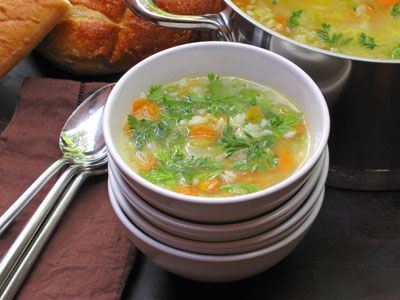 What to do with those carrot greens? Carrot Top Soup! Super nutritious!