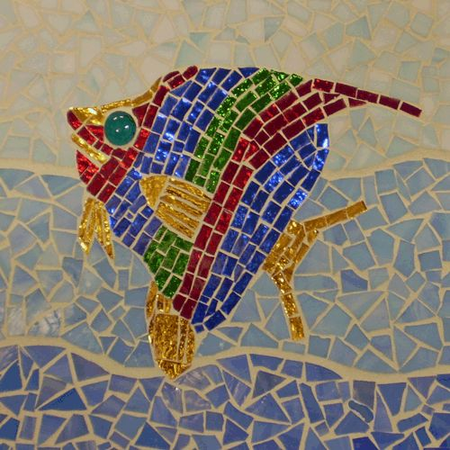 32 best Mosaic Fish images on Pinterest