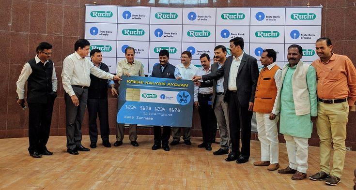 #RuchiSoya Launches ' #KisanKalyanAyojan ' in Partnership with #SBI