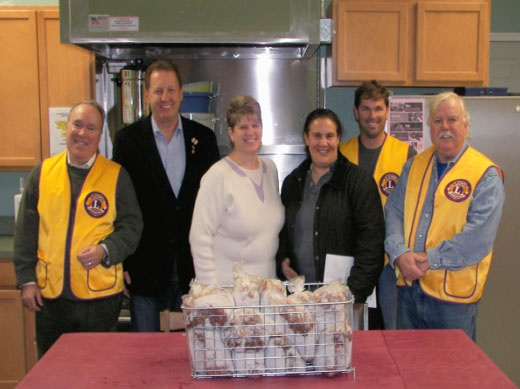 East Hampton Lions Club making part of a 400lb meat donation to the East Hampton Food Pantry a reality. Our Lions Club with the support of the food pantry were the first responders to assist the American Red Cross and our community in the wake of hurricane Sandy depleted most of their inventory.  Food stores are getting low due to the economic times and a large distribution increase for the coming holidays. The not for profit Food Pantry is vital for those in need serving 147 families a…