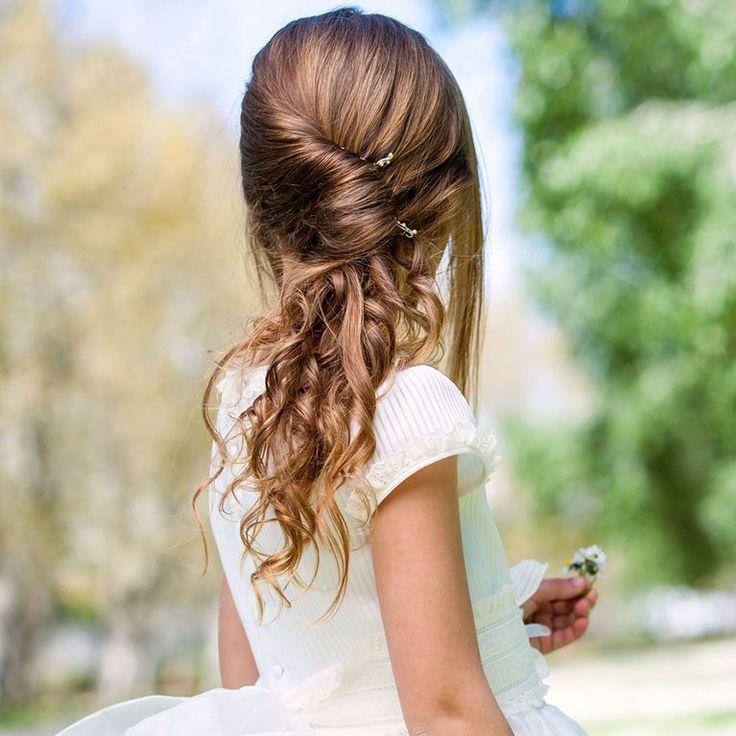 Frisuren zur Kommunion: Die schönsten Styles zum Nachmachen