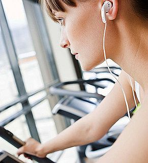 1 hour elliptical workout plan with Spotify playlist.