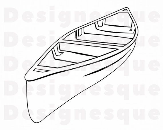43+ Row boat clipart black and white info