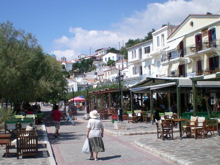 Greece...Is. Ikaria ...Agios Kyrikos the capital of the Island