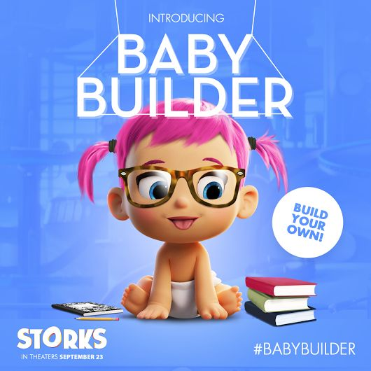 Baby Avatar 2: Special Delivery: Create Your Baby Avatar With #STORKS