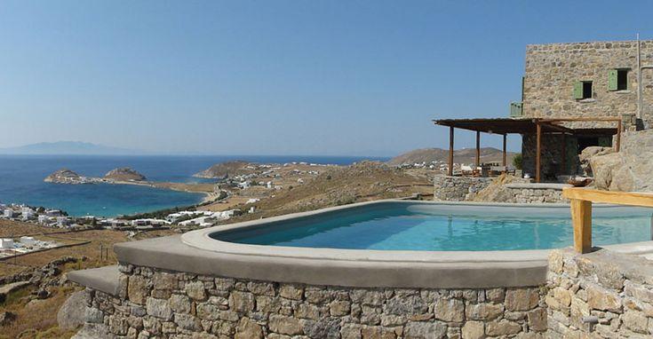 Βίλα στην Μύκονο - Villa in Mykonos - Вилла на острове Миконос