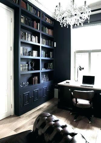 Light Blue Bookcase Black Painted Bookshelf A Headboard