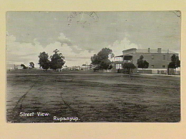 Street View. Rupanyup. [picture] , State Library of Victoria