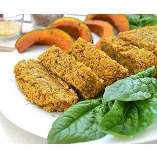 Polpettone di lenticchie, miglio e zucca | MangiaComeCorri