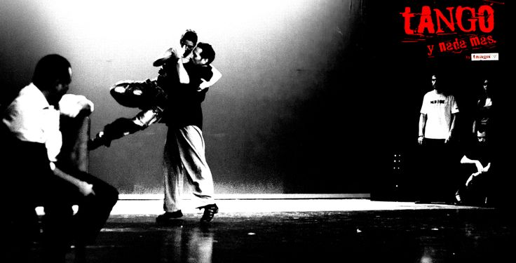 ''Tango Y Nada Mas'' .Our second theatrical production . Rehearsal time!