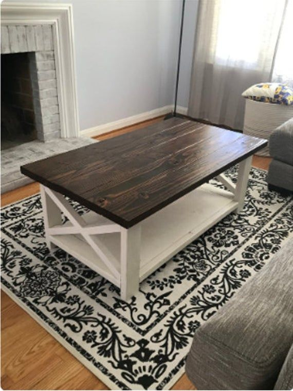 15++ Farmhouse coffee and end tables type