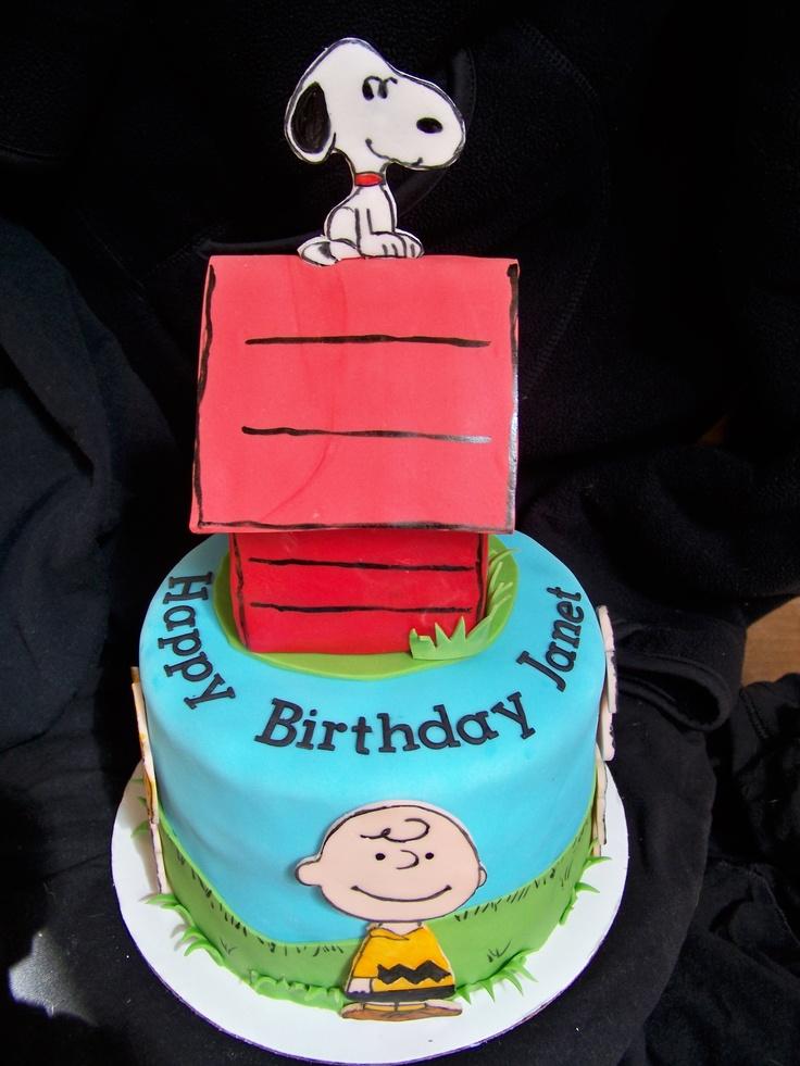 birthday cake snoopy
