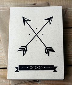 Two crossed arrows - Native American symbol for friendship