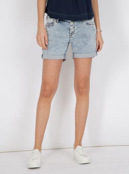 |  Pixie  | Boyfriend Shorts In Hellblau | (26390)