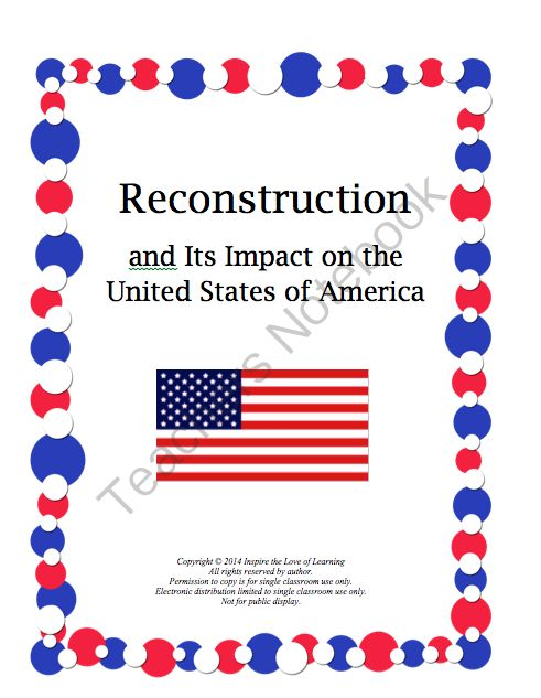 characteristics and impacts of american reconstruction essay The civil has been one of most important event in the american how did civil war change the united states history essay the war made an impact from.