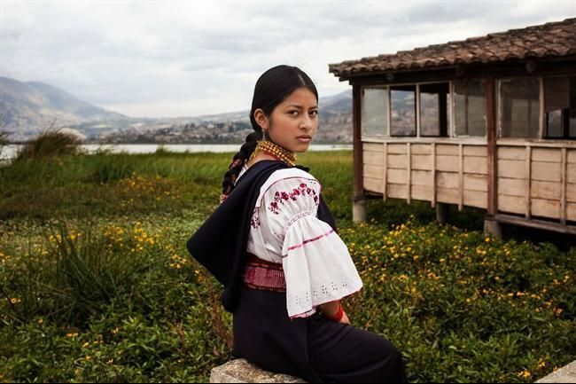 Otavalo, Ecuador  30 Stunning Pictures Showing Beautiful Women From All Around The World • Page 5 of 6 • BoredBug