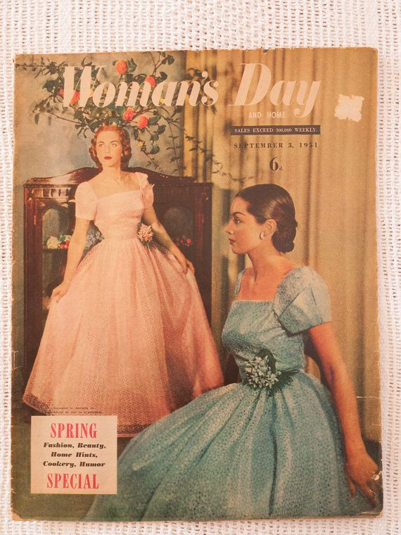 Woman's Day and Home magazine September 3 1951 by freshdarling
