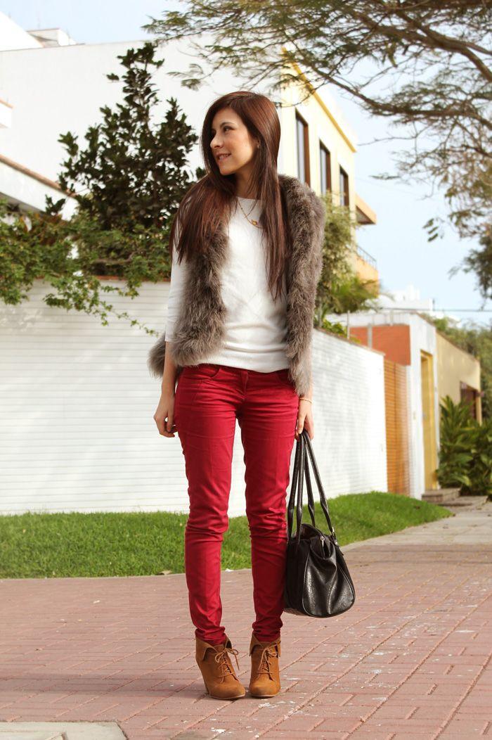 Las 25+ mejores ideas sobre Chaleco rojo en Pinterest | Chaleco acolchado Ropa de invierno de ...