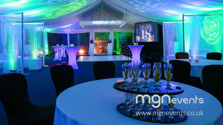 An 18th Birthday party arranged in less than 2 months! The party included a professional London #DJ with playlist from the birthday girl, moving head intelligent lights with wireless #LED #Uplighters, Bespoke #Gobos lighting filter, #VIP carpet runway leading into the venue, a stunning white #LEDDanceFloor, LED #poseur tables lit up in the pink colour theme, VIP booth areas, professional roaming #photography and security equipped with guest list! #18thBirthday #Gobo #LEDLighting #VIPBooth