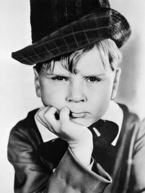 """Jackie Cooper from """"Our Gang"""""""