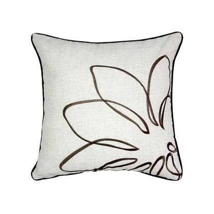 BROWN PETAL CUSHION