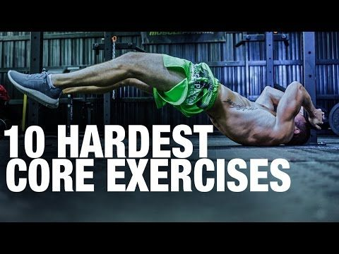 Top 10 Hardest Core Exercises! How Many Could You Do? - YouTube