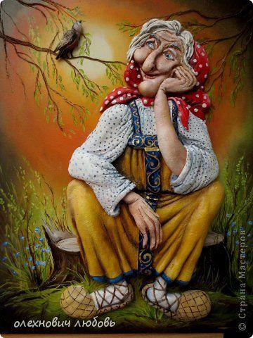 Картина панно рисунок Лепка Романтика Тесто соленое фото 1