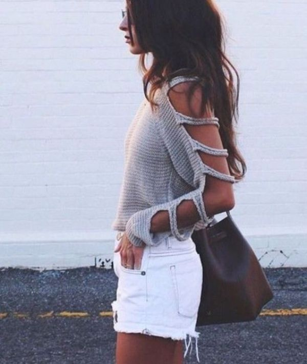 15 Spring & Summer Fashion Trends for Women 2017  - Do you want to add new pieces to your wardrobe for the upcoming seasons? Do you want to discover more about the latest fashion trends that are present... -  cutouts-9 .